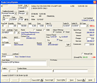 Bond automated trading system